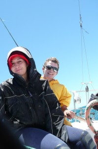 jamie and toby sailing
