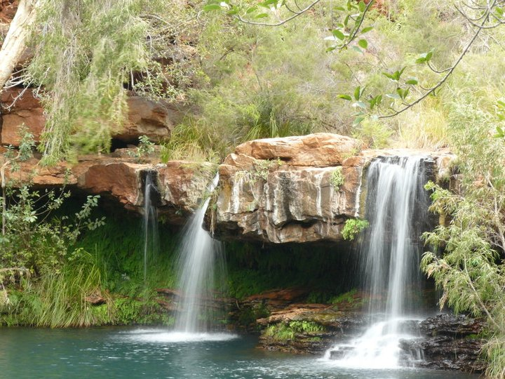 waterfall karijini