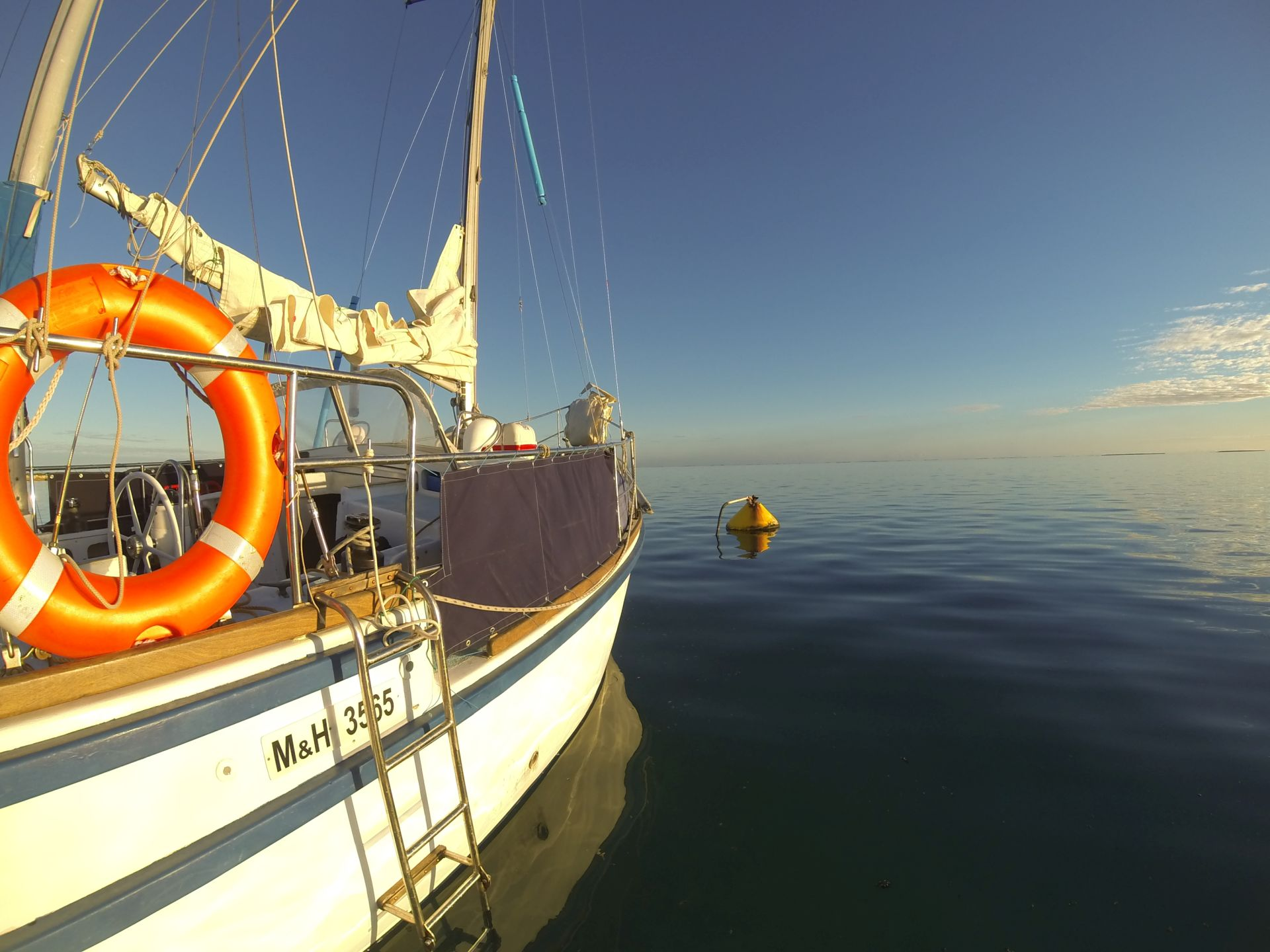 anchorage in Abrolhos
